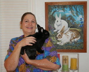 Victoria and Bunny
